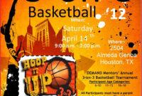 001 Basketball Tournament Flyer Template Bar Screening regarding 3 On 3 Basketball Tournament Flyer Template