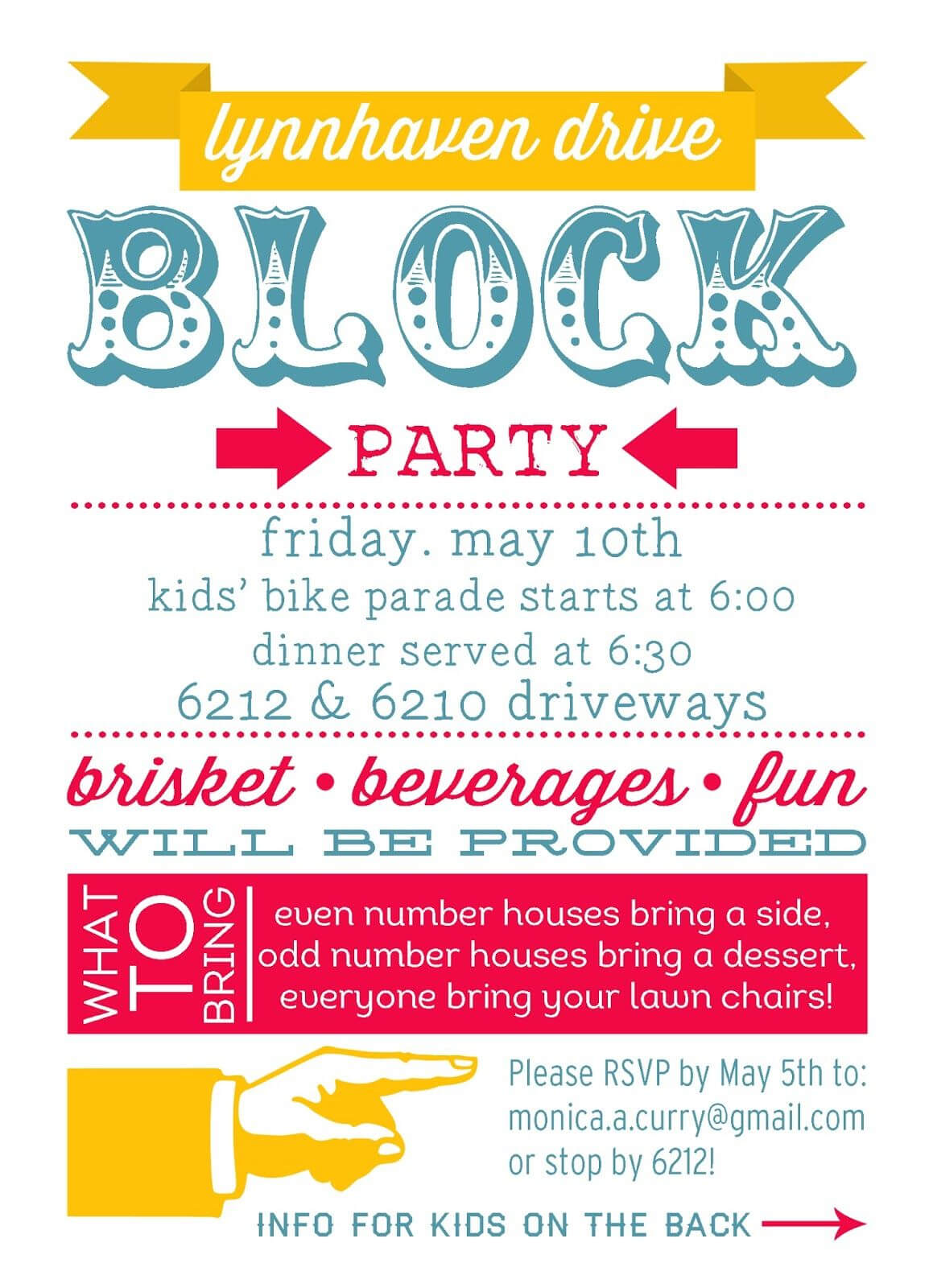 001 Block Party Invite Template Archaicawful Ideas Free Within Block Party Flyer Template