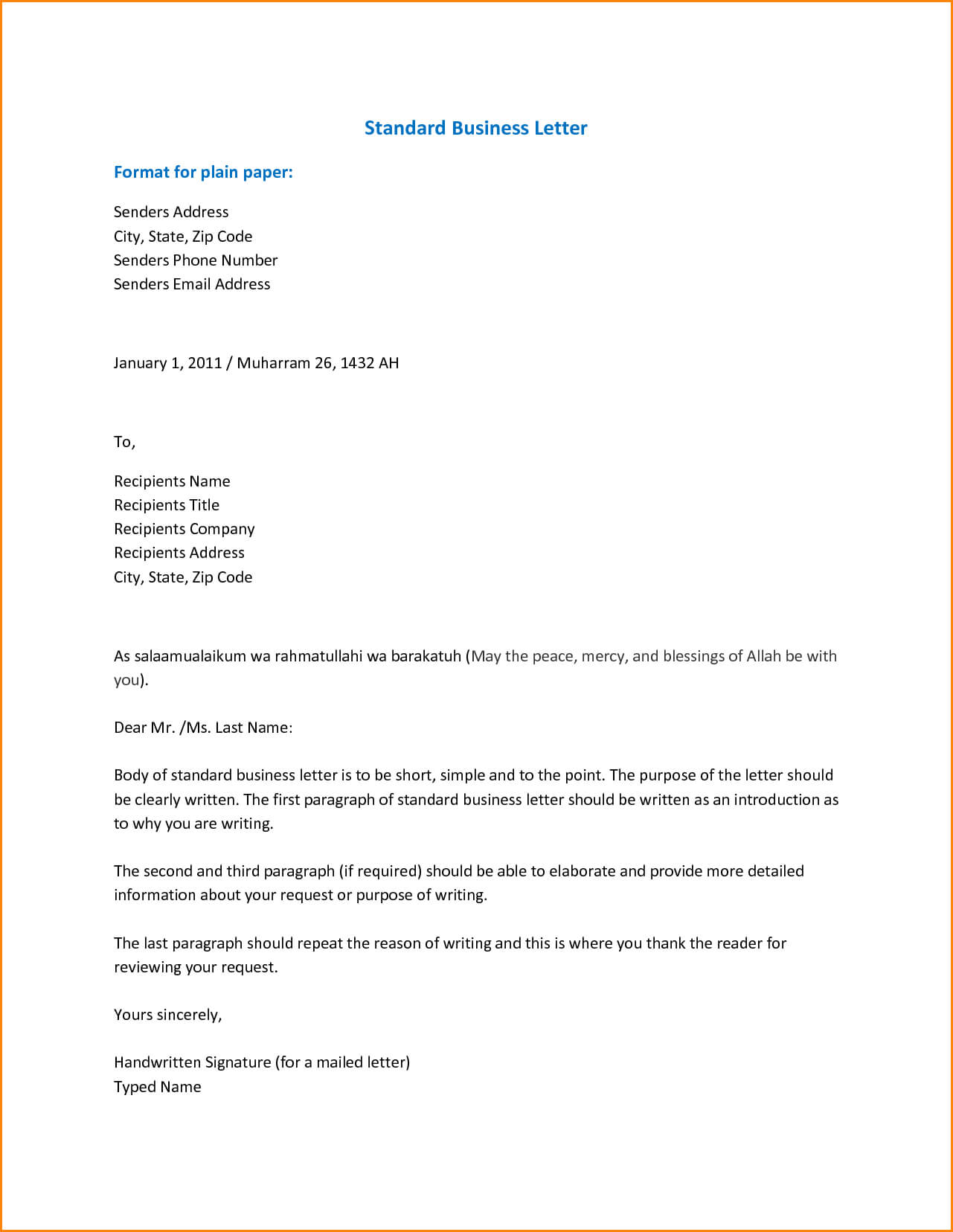 001 Formal Email Template Business Pdf Examples Letter With Business Email Template Pdf