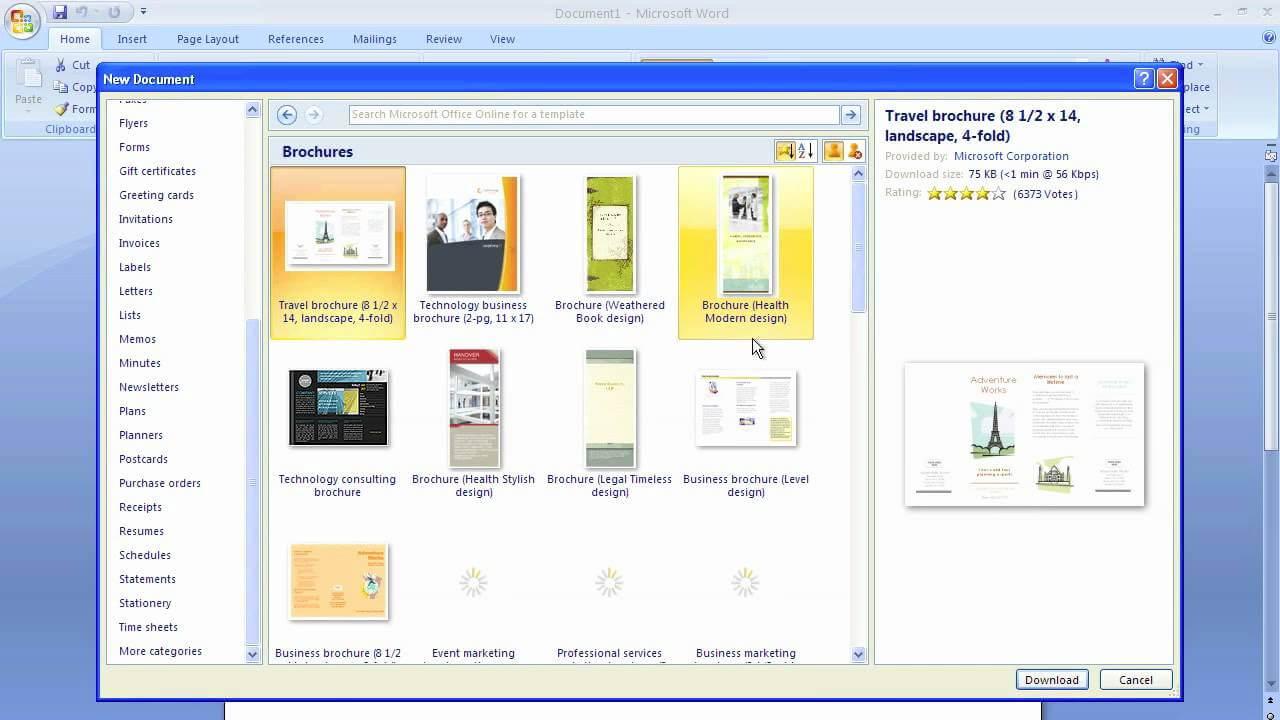 001 Maxresdefault Microsoft Word Brochure Template Inside Brochure Template On Microsoft Word
