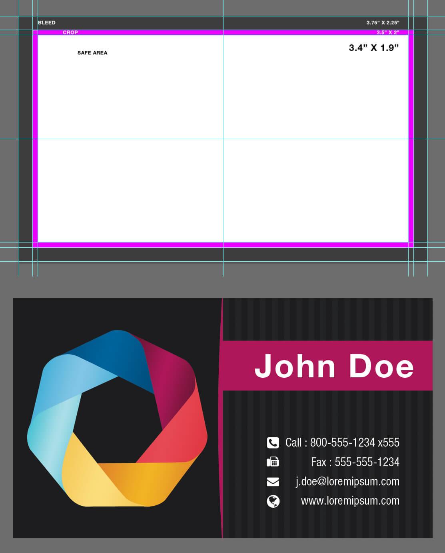 002 Blank Business Card Template Psd Ideas D9R44Kb In Blank Business Card Template Psd
