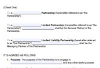 002 Ma Partnership Agreement Template Free Impressive Ideas inside Business Partnership Agreement Template Pdf