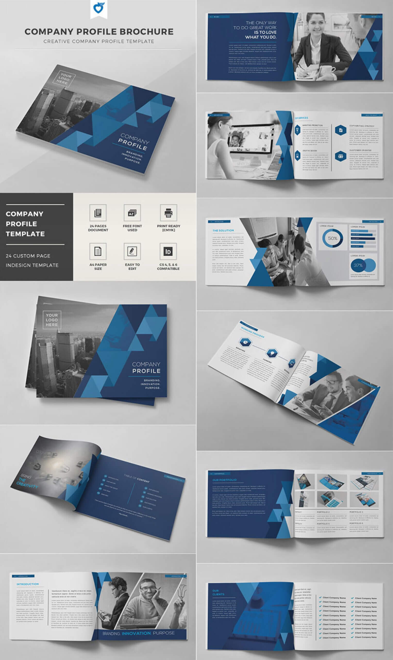 003 Indesign Brochure Templates Free Download Template Ideas For Brochure Templates Free Download Indesign