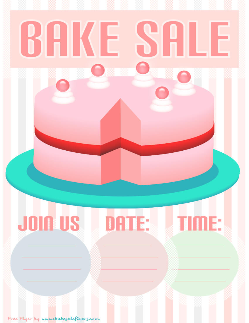004 Bake Sale Flyers Templates Free Template Ideas Flyer In Bake Sale Flyer Free Template
