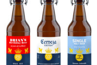 004 Beer Bottle Label Template Labels Customized From throughout Beer Label Template Psd