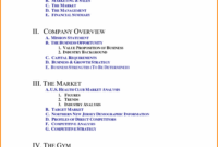 004 Free Business Plan Template Word South Africa Gym Pdf with Business Plan Template For A Gym
