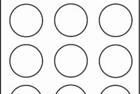 004 Template Ideas Inch Circle Elegant Matte White Printable intended for 2 Inch Circle Template
