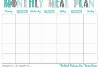 004 Template Ideas Weekly Meal Planner Excel Luxury Monthly within Camping Menu Planner Template