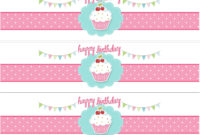 004 Water Bottle Labels Template Free Birthday Fascinating in Birthday Water Bottle Labels Template Free