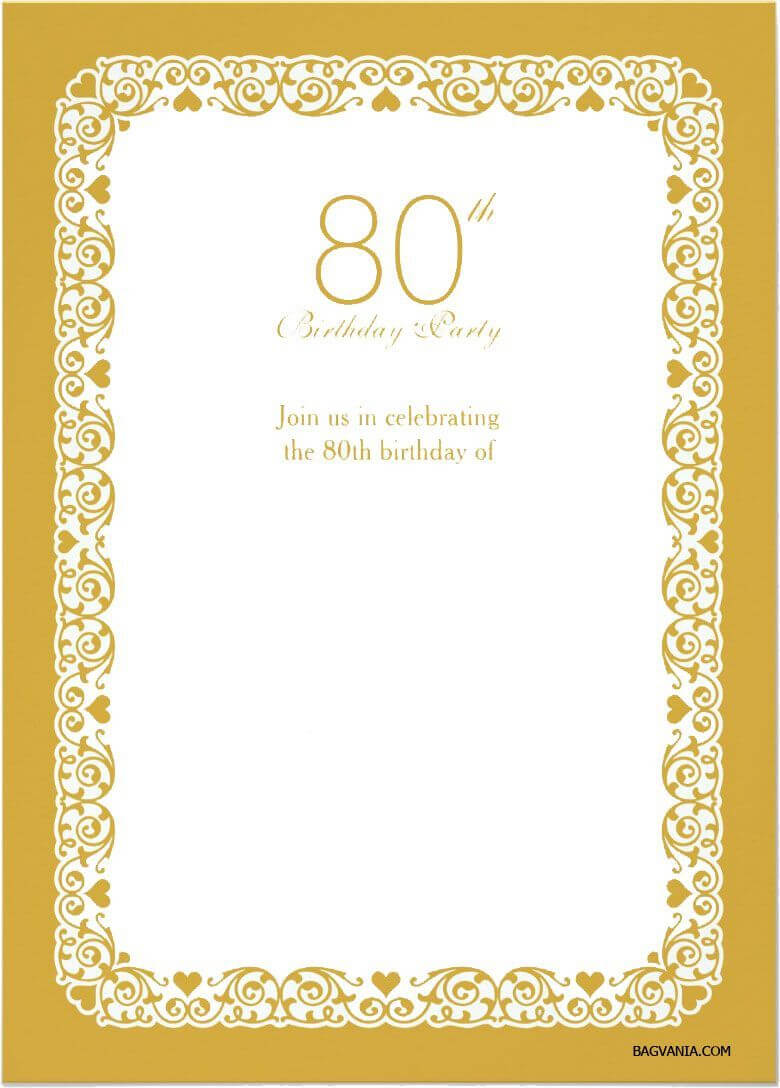 005 80Th Birthday Invitation Templates Template Ideas In 80Th Birthday Invitation Templates