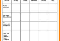005 Interesting Preschool Curriculum Template Free Printable within Blank Preschool Lesson Plan Template