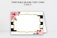 005 Template Ideas Blank Place Shocking Card Free Name throughout Blank Tent Card Template