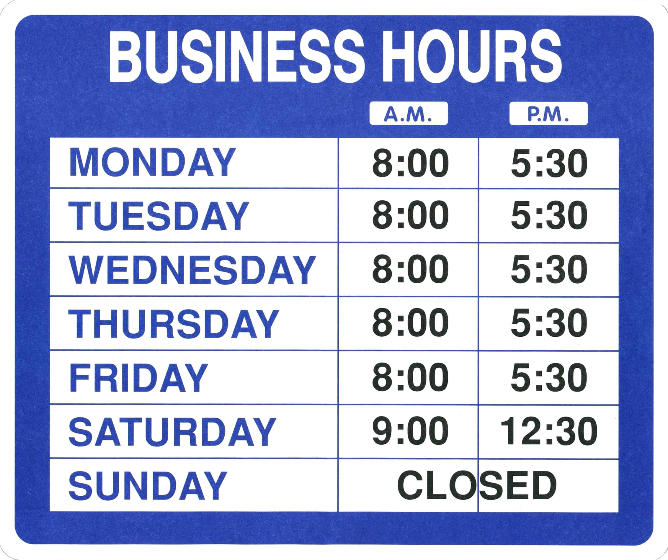 005 Template Ideas Business Hours Microsoft Word Office With Regard To Business Hours Template Word