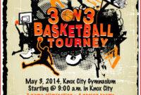 005 Template Ideas On Basketball Tournament Flyer intended for 3 On 3 Basketball Tournament Flyer Template