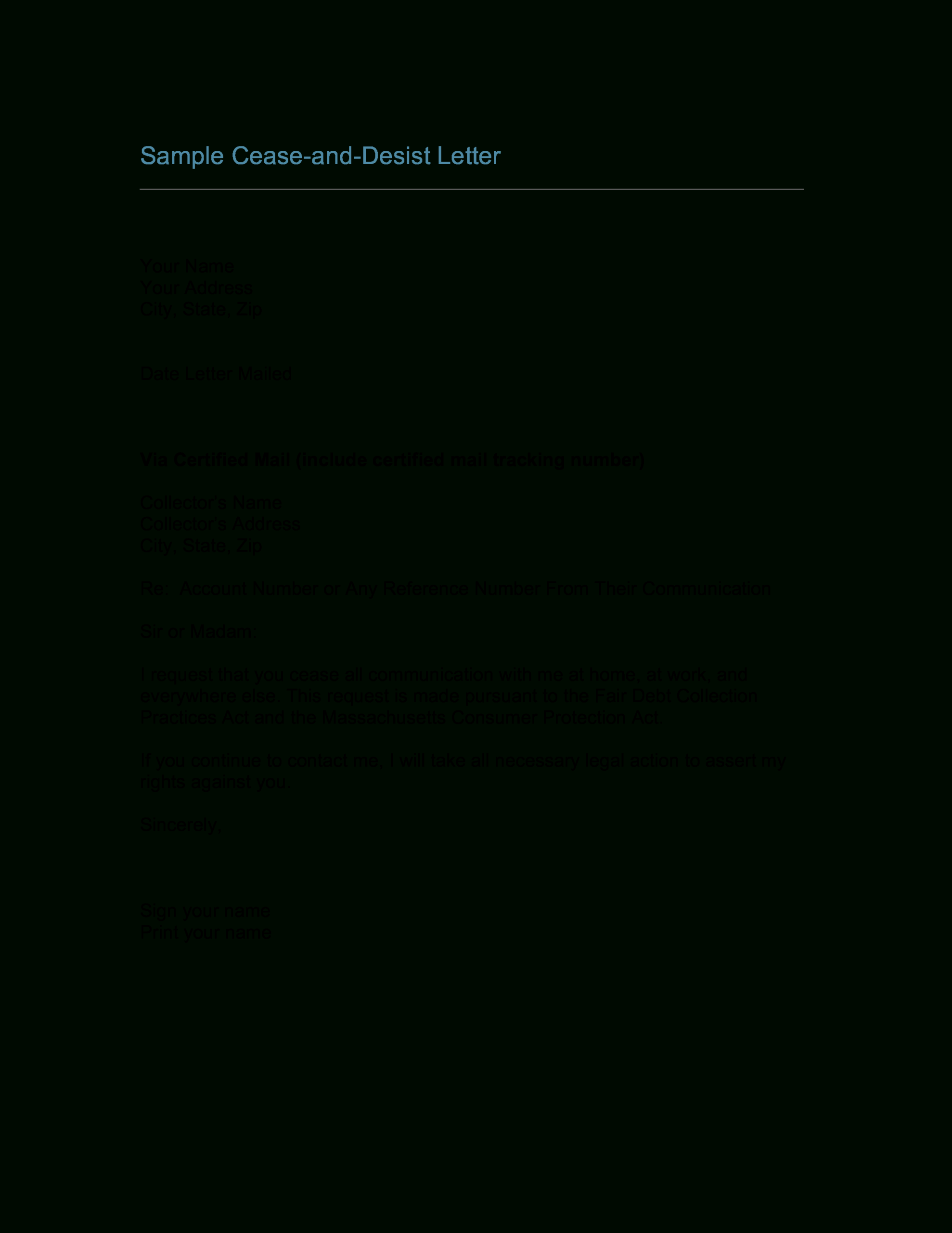 006 Cease And Desist Template 57833Aecc949 1 Top Ideas Pdf Intended For Cease And Desist Letter Template Defamation