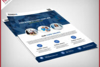 006 Coloured Business Flyer Templates Free Psd Printing for Bus Trip Flyer Templates Free