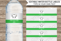 006 Water Bottle Labels Template Free Word Ideas Elegant regarding Birthday Water Bottle Labels Template Free