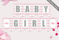007 Baby Shower Banner Templates Template Ideas Editable pertaining to Bridal Shower Banner Template