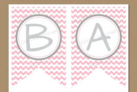 007 Baby Shower Banner Templates Template Ideas Editable within Baby Shower Banner Template