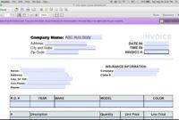 007 Free Auto Repair Invoice Template Word Ideas Exceptional inside Auto Repair Invoice Template Word