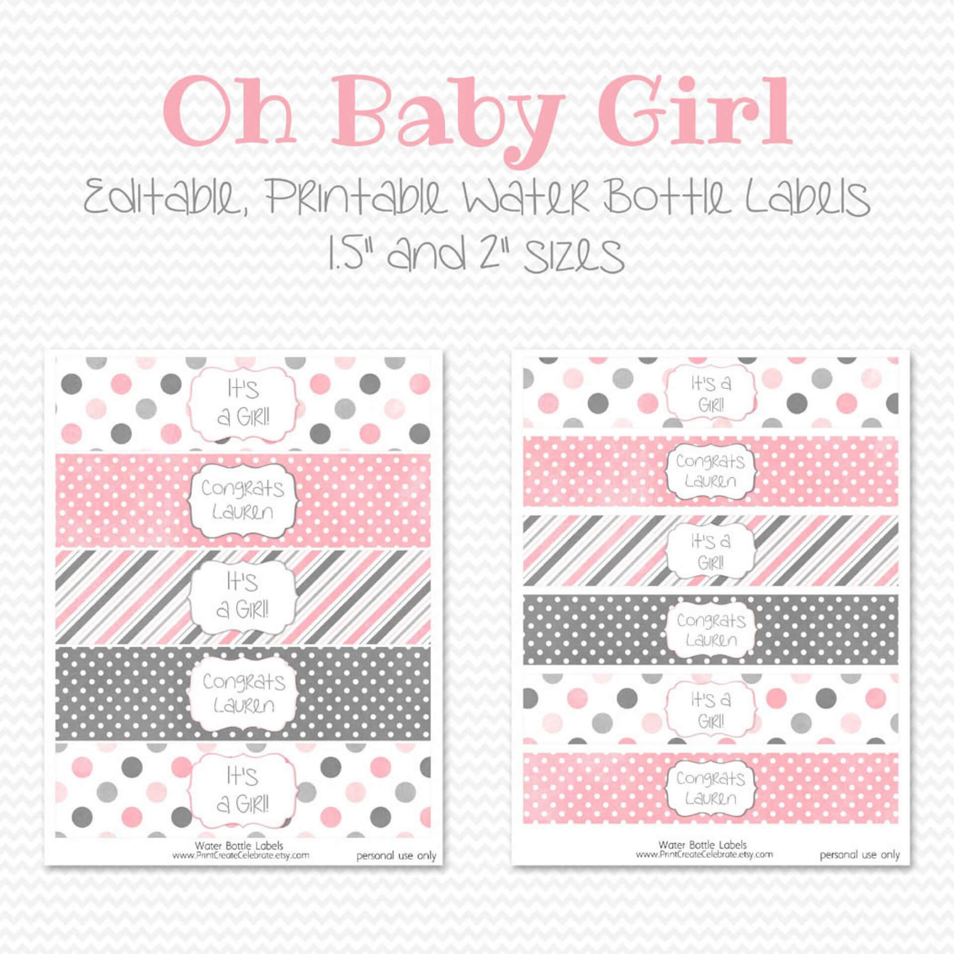 007 Water Bottle Labels Template Free Baby Shower Label Throughout Baby Shower Bottle Labels Template