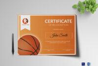 008 Basketball Award Certificate Template Ideas Awful Word with regard to Basketball Certificate Template