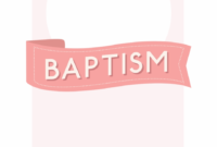 008 Free Baptism Invitation Templates Template Ideas 1508436 throughout Christening Banner Template Free