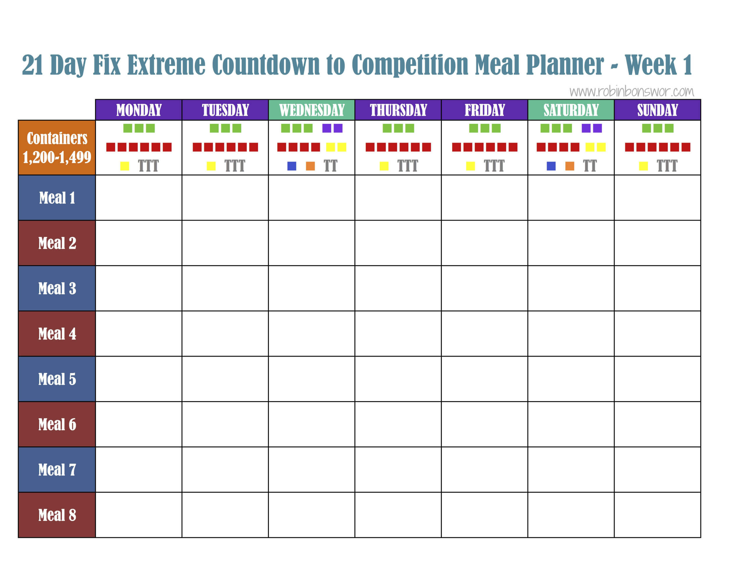 008 Template Ideas Meal Plan Excel Of Singular Spreadsheet For 21 Day Fix Template