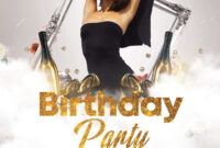 009 Birthday Party Flyer Templates Free Bigpreview Psd with regard to 50Th Birthday Flyer Template Free