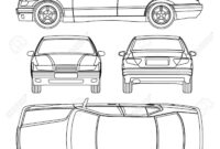 009 Template Ideas Car Line Draw Insurance Damage Condition for Car Damage Report Template