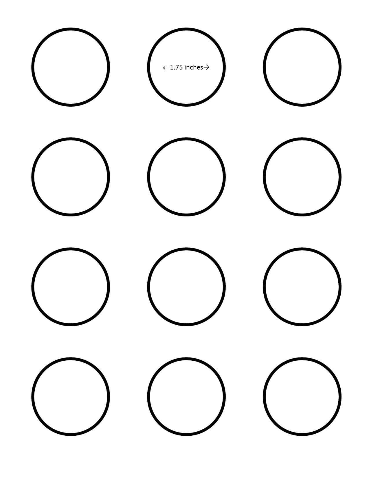 009 Template Ideas Inch Best 1 Circle 1/2 Word Round Label 5 Inside 2 Inch Round Label Template