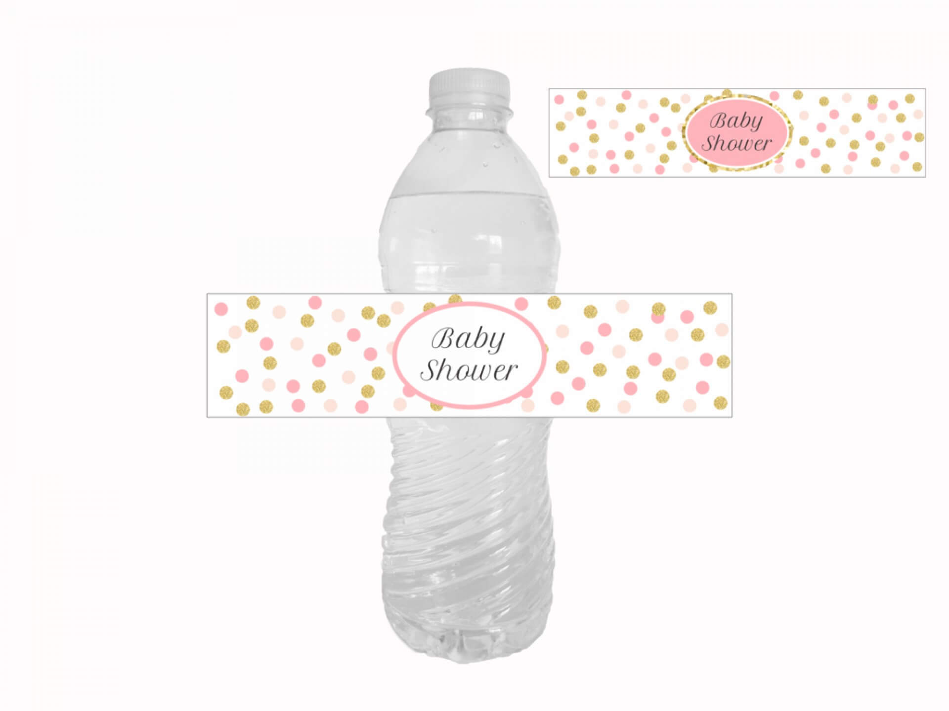 009 Water Bottle Labels Template Free Baby Shower Amazing In Baby Shower Bottle Labels Template