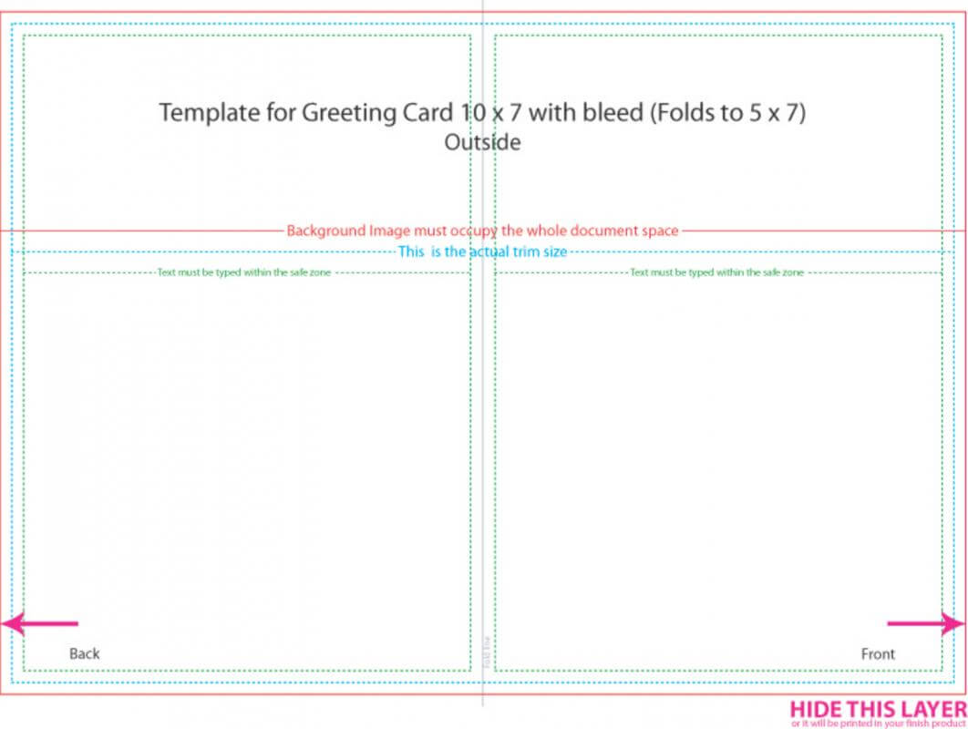010 5X7 Postcard Template Greeting Card Ideas Frightening Throughout 5 X 7 Postcard Template