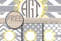 011 Free Binder Cover Templates Printable Editable Covers with Business Binder Cover Templates