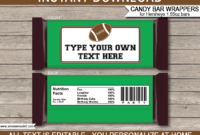 011 Free Candy Bar Wrapper Template For Word Custom Ideas with regard to Candy Bar Wrapper Template For Word