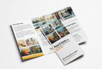 011 Free Real Estate Trifold Brochure Template Tri Fold intended for Adobe Illustrator Tri Fold Brochure Template