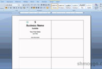 011 Microsoft Word Business Card Template Amazing Ideas within Business Card Template Word 2010