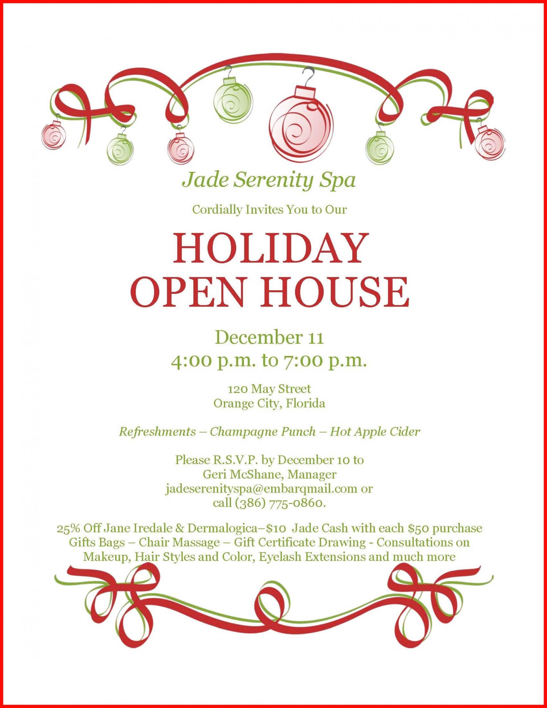 011 Template Ideas Open House Invitation Free 1175713 Pertaining To Business Open House Invitation Templates Free