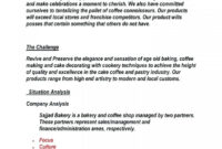 011 Template Ideas Simple Retail Business Plan Word Good for Cake Business Plan Template