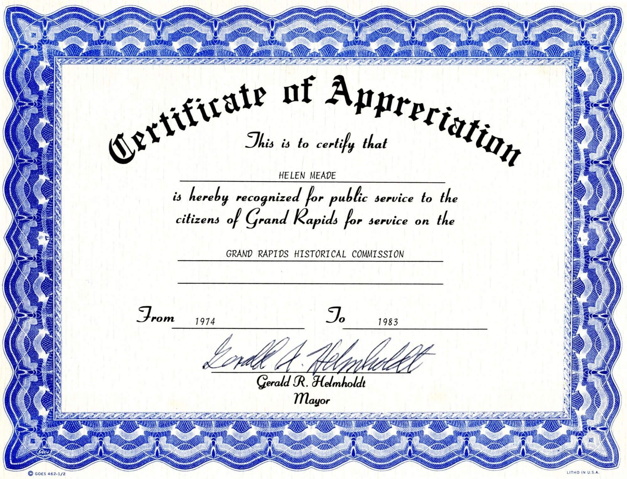 012 Certificate Of Appreciation Template Word Doc Ideas Pertaining To Certificate Of Appreciation Template Doc