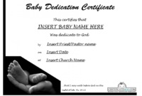 013 Appealing Official Birth Certificate Template Sample in Baby Christening Certificate Template
