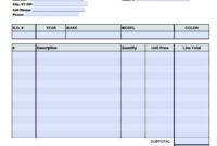 013 Auto Repair Invoice Template Word Ideas Marvelous Free with Auto Repair Invoice Template Word