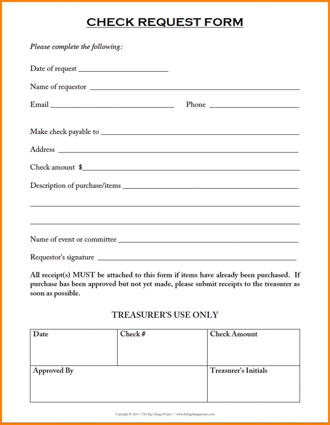 013 Check Request Form Template Excel Free Project Elegant With Regard To Check Request Template Word