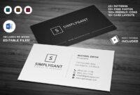 013 Template Ideas Microsoft Office Business Card within Business Card Template For Word 2007