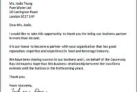014 Formal Business Proposal Letter Sample Request Example in Business Partnership Proposal Letter Template