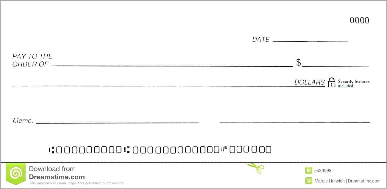 014 Free Blank Business Check Template Good Of Dummy Cheque In Blank Business Check Template