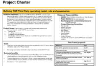 014 Project Charter Template Ppt Management Six Sigma inside Business Charter Template Sample