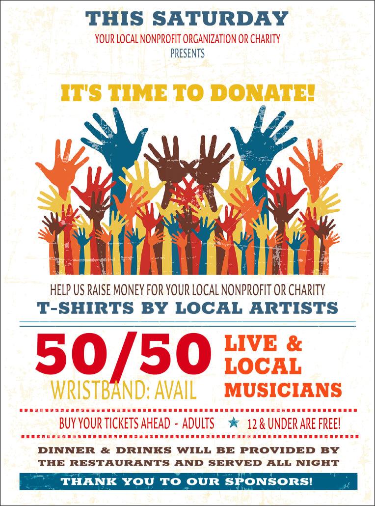 014 Template Ideas Fundraiser Flyer Free Fundraising Hands Throughout Cancer Fundraiser Flyer Template