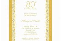015 80Th Birthday Invitation Templates Template Ideas Free regarding 80Th Birthday Invitation Templates