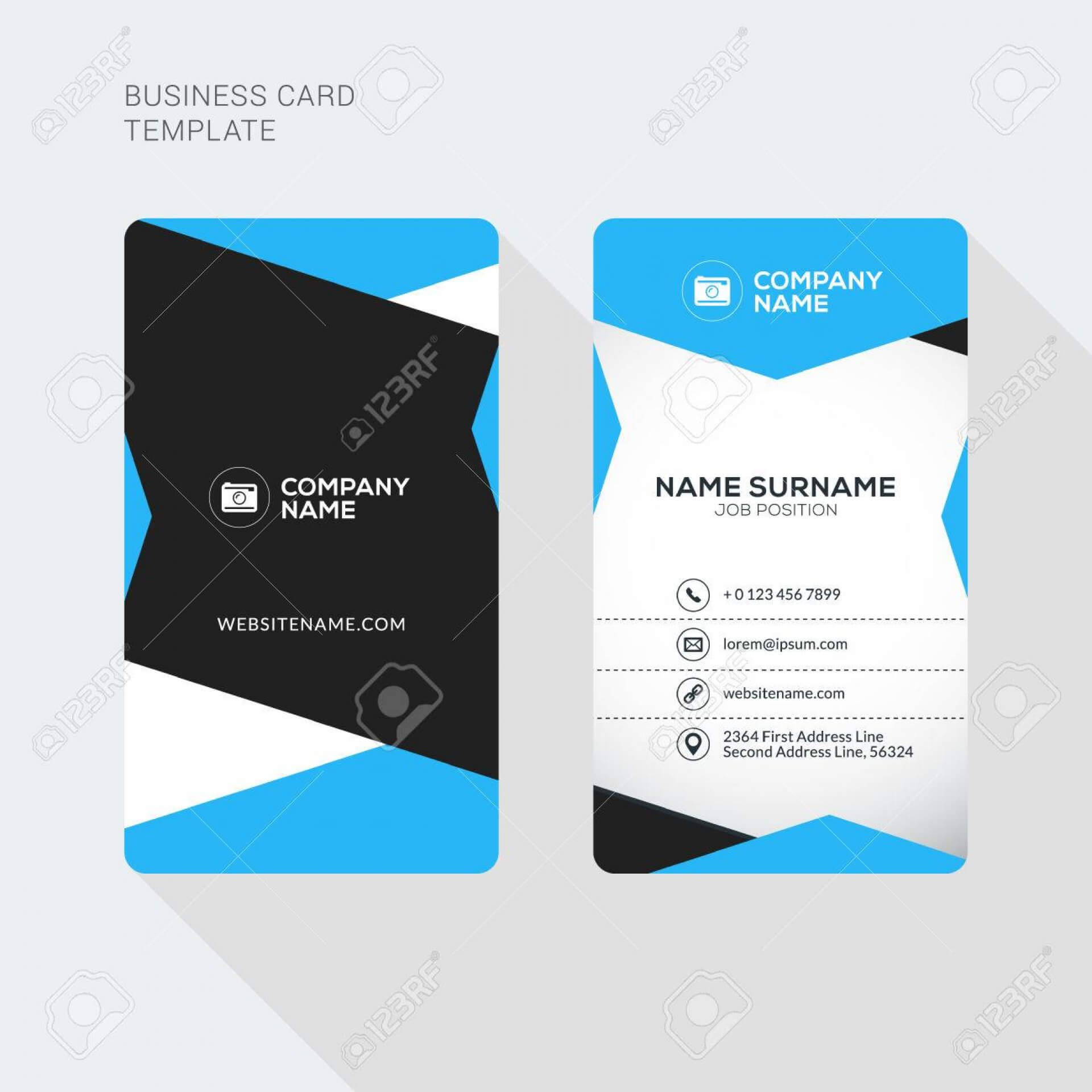 015 Template Ideas Double Sided Business Card Illustrator Pertaining To 2 Sided Business Card Template Word